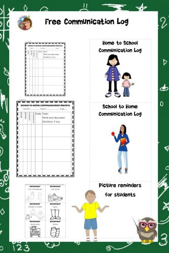 home-school-communication-log-free-instant-download