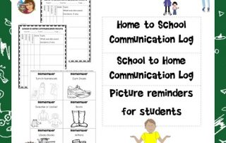 home-school-communication-log-free-printable