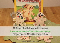 gingerbread man holiday ornaments