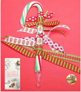 candy cane kid make ornament for 10 days of Holiday ornaments crafts