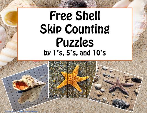 Shells Skip Counting