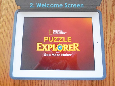 National Geographic Puzzle Explorer App