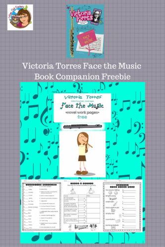 Victoria Torres Face the Music review with free work pages include character matching, hinky pinks, and cause and effect.