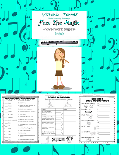 Face the Music (Victoria Torres, Unfortunately Average) free work pages