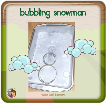 bubbling-snowman-vinegar-and-baking-soda-experiment