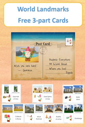 world-landmarks-free-educational-printable-3-part-cards