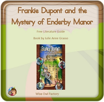 free-literature-guide-for-Frankie-Dupont-Mystery-Enderby-Manor