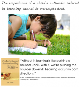 Project based homeschooling book review