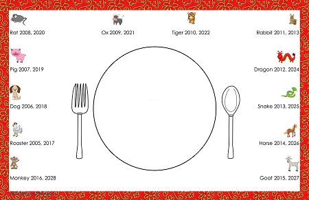 photo about Chinese Zodiac Printable named Chinese Zodiac Totally free Printable Things to do