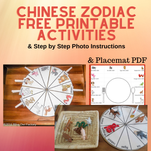 photograph regarding Chinese Zodiac Printable named Chinese Zodiac Free of charge Printable Routines