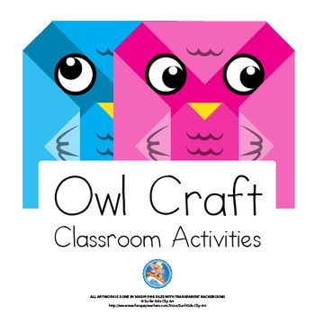 cut and fold craft Crafts-and-Classroom-Decorations-Owl-Theme