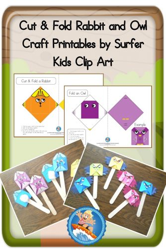 Cut-and-fold-owl-and-rabbit-craft-idea-with-examples