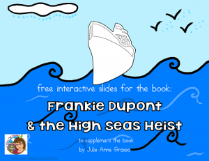 Frankie-High-Seas-Heist-Google-Slides free and requires Google Drive