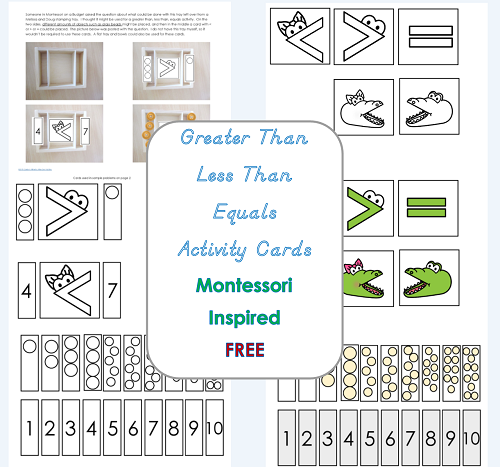 free printable for Greater-than-less-than-equals-activity-cards