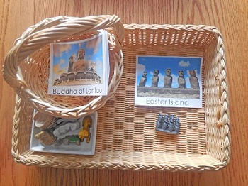 Toobs-world-landmarks-cards-to-match-to-figurines-freebie matching and 3-part cards