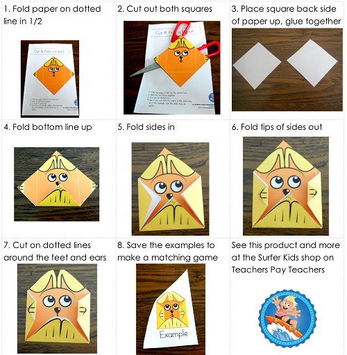rabbit craft directions-for-making-rabbit-paper-folding-craft