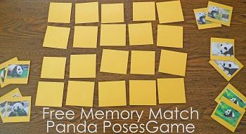 free-memory-match-panda-poses-game