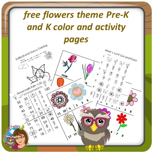 free-flower-theme-activity-and-color-pages