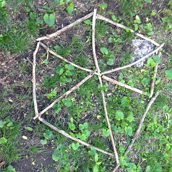 loose-parts-2D-geometry-in-the-forest