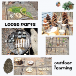 Build Numbers Outside with Loose Parts Free PDF