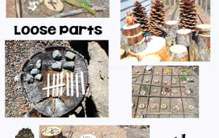 Loose Parts Outdoor Academic Learning