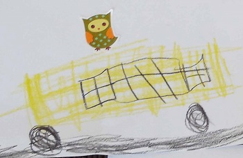 owl-rides-the-school-bus