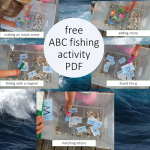 Deep Sea Fishing ABC Activity