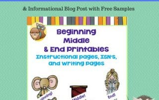 beginning-middle-end-writing-informational-blog-post-with-freebie-samples-K-2