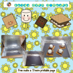 Sun S'mores Baked in a DIY Solar Oven and Freebie
