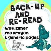 Back-Up-and-Reread-ELMER-AND-THE-DRAGON-Smart-Board-PPt-PDFs