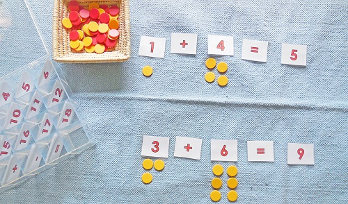 math-with-counters-on-the-rug