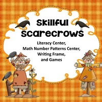 Centers-and-Writing-Frames-Skillful-Scarecrow-PDF