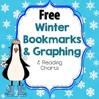 FREE-Winter-Theme-Bookmarks-Reading-Charts-Graph