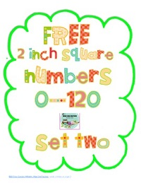 Free-2-Square-Numbers-0-120-Set-Two