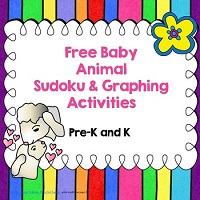 Free-Baby-Animal-Sudoku-and-Graphing