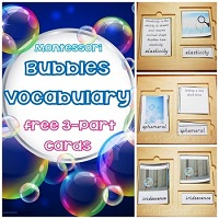 Free-Bubbles-Vocabulary-3-Part-Montessori-Cards
