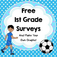 Free-First-Grade-Surveys-and-Make-My-Own-Graph-Sports-Theme