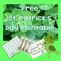 Free-St-Patricks-Day-Bookmarks-Doubles-Graphing-Activity-Reading-Charts