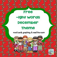 Free-ight-December-Theme-Word-Cards-Graph-and-Read-the-Room