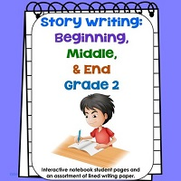 Grade-2-Beginning-Middle-End-Writing-PDF-with-Foldables
