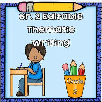 Grade-2-Editable-Writing-Through-the-Year-Illustrated-Writing-Pages-and-Rubrics