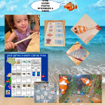 Ocean Theme Learning and Activities Free