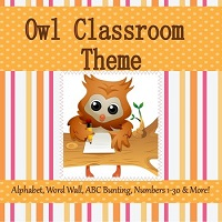 Owl-Theme-Classroom-with-Editable-Pages