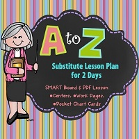 Substitute-Day-Plans-ABC-Order-Sub-Day-Smart-Board-Lesson
