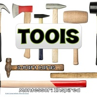 Tools-3-part-Montessori-Cards