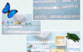 movable alphabet free printable pages