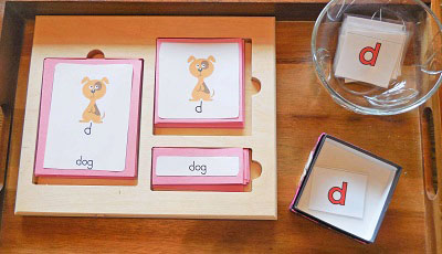 Lower Case Alphabet 3 Part Cards