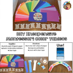 Inexpensive DIY Montessori Color Tablets