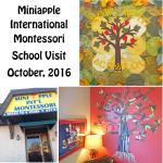 Miniapple International Montessori Visit