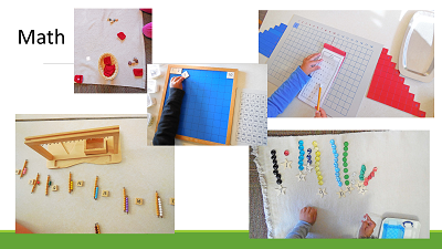 manipulative math resources in use